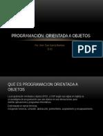 Programación Orientada a Objetos 2