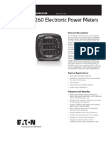 IQ 250260 Electronic Power Meters