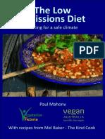 Low Emissions Diet Feb 2016