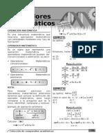 01 JohnRM 2014 Operadores Matematicos