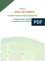 Volumen 2. Manual de Campo Inventario Forestal Nacional 2014
