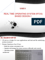 Real time operating system based design-1