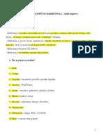 Copy of Pitanja Za Ispit Iz Marketingaost Odgovori