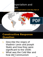 soviet imperialism and the fall of communism 2015