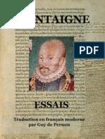 Michel de Montaigne - Essais I - MONTAIGNE (Trad.gdp)