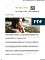 5 Ways to Dig Yourself Out of Depression