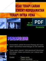 Konsep Dasar Terapi Cairan Perioperative