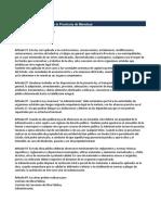 Ley de Obras Públicas de La Provincia de Mendoza 4416