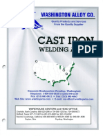 Cast Iron Welding Alloys