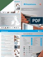 Keystone Steel Lintel Brochure