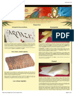 Pergamino, Papiro, Papel -- Pergaminum