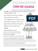 Lectura  Vestido de Laura