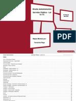 Direito Administrativo - Servidor Público - Lei 8.112