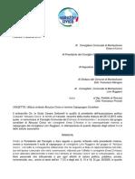 Lettera Diffida Montesilvano Su Simbolo e Nome Abruzzo Civico DEF