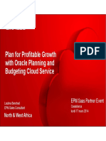 Planning Cloud