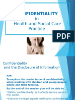 confidentiality and information handling 2016