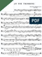 ARNOLD - Fantasy for Trombone