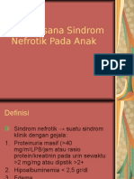 Tatalaksana Sindrom Nefrotik Pada Anak
