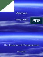 The Essence of Preparedness