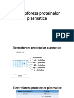 Electroforeza proteinelor plasmatice