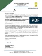 Carta a Directores Ambulatorios 2016