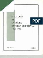 Villegas & Loza - Situacion de La Deuda Externa de Bolivia 1985-1995