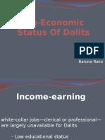 Socio-Economic Status of Dalits