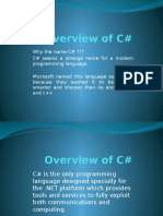Overview of C-Sharp.pptx