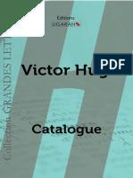 Catalogue Ligaran livres Victor Hugo grands caractères