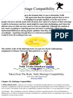 Marriage Compatibility Synastry