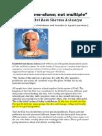 Pandit Shri ram Sharma Achrya on Tauheed-English.pdf