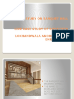 Study on Banquet Hall