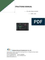 EPRC 12 Volt 10 Ampere Solar Charge Controller Manual