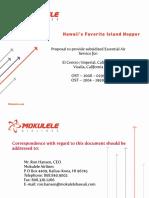 Mokulele Airlines (Proposal)