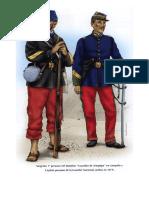 Uniformes Guerra Del Pacifico 1879-84