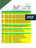 Lista de PreciosTarsus 06062011
