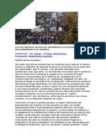 Barria, Fabian - LOS PELIGROSOS VICIOS DEL MOVIMIENTO ESTUDIANTIL Y EL DESCUBRIMIENTO DE GRAMSCI