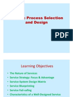 O.M. - Service Process Selection and Design