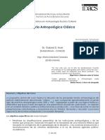 Teoria Antropologica Clasica - Noel - Antropologia