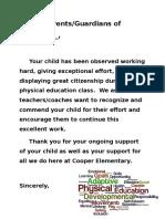 parent letterfinal