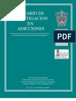 Anuario de Investigación en Adicciones