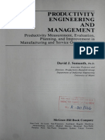Productivity Engineering and Management
