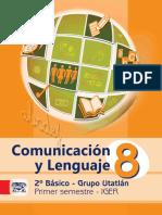 Libro Utatlán Com. y Lenguaje 1er. Sem. 2012