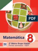 Libro Utatlán Matemática 1er. Semestre