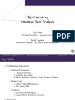 High-Frequency Data Analysisi