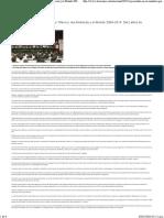 """04-01-16 Presentan en el Senador reporte """"México, las Américas y el Mundo 2004 2014"""""""