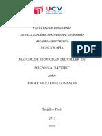 Monografia Taller de Mecanica