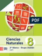 Libro Utatlán C.naturales 1er. Sem.
