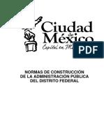 NORMAS DE CONSTRUCCIÓN