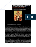 Derrida, Jacques -  Las pupilas de la Universidad. El principio de razón y la idea de la Universidad